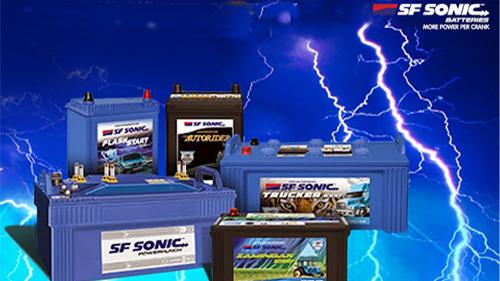 Four Wheeler Battery Dealer in Vadodara